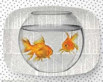 goldfish bowl II platter