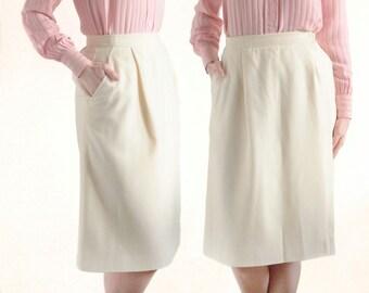 Genuine Yves Saint Laurent // vintage skirt