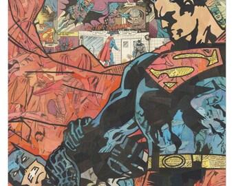 Superman v Batman Print 11x17