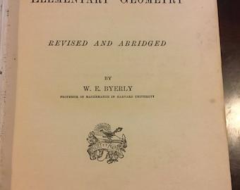 Chauvenets treatise on Elementary geometry