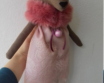 Deer doll, handmade doll, Christmas doll, stuffed animal, fawn doll, great Christmas present