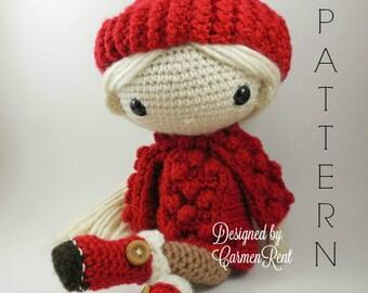 Amigurumi Doll Book : Doll maria amigurumi crochet pattern pdf e book stuffed