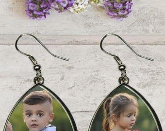 Pair of custom earrings