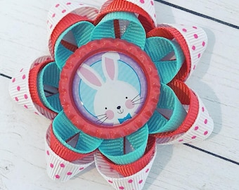 Easter Bow, Easter Bunny, Bows, Spring