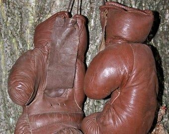 Vintage Gloves 1950/Boxing Gloves 50th