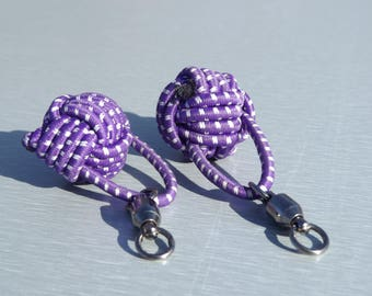 Poi Handles - Purple