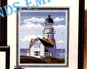 Landmarks of the Waterways, Lighthouses, Vintage Stoney Creek Counted Cross Stitch Book 164 Maine Massachusetts Michigan Wisconsin