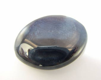 40 x 30 mm black Onyx bead. (8205322)