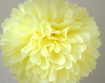 Yellow - one pom