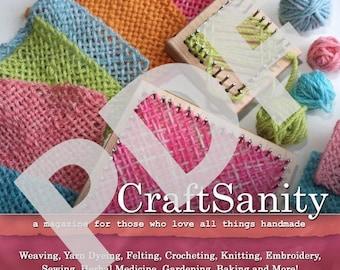 CraftSanity Magazine Issue 6 PDF Edition