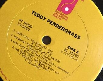 Teddy Pendergrass  vinyl album ...