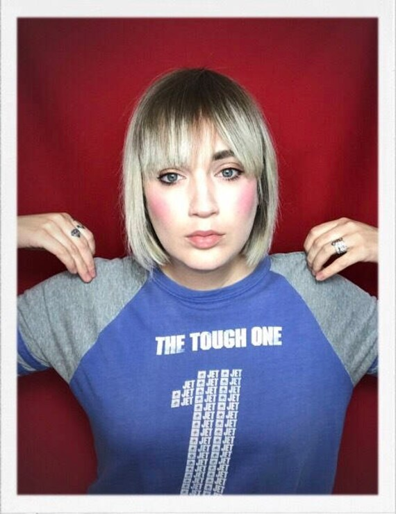 "Vintage Women's The Tough One Tee 19"" width 23"" length"