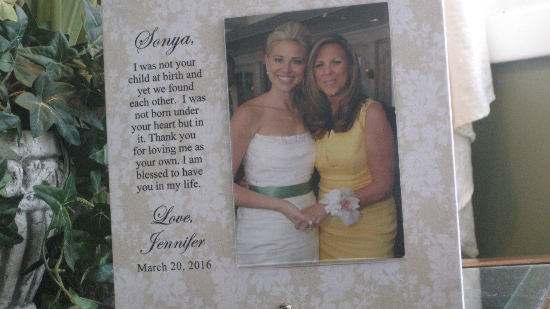 Wedding Gifts For Stepmom: STEPMOM Wedding Gift STEPMOTHER Wedding Gift Step Mom