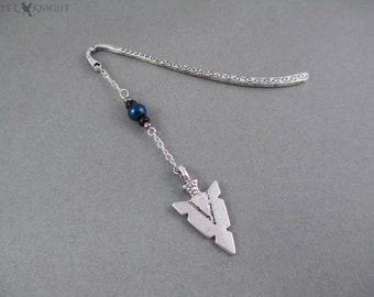 Arrowhead Bookmark - Silver
