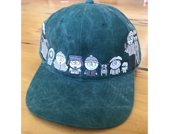 Vintage South Park Cap / 90s South Park Cap / South Park Hat / Embroidered Cap