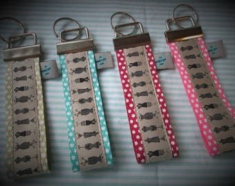 Key chain dress form