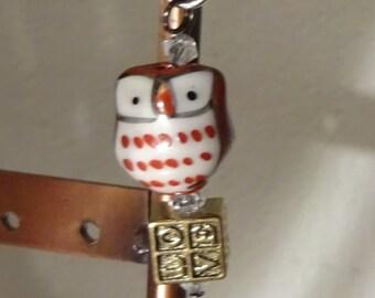 Love Brown Owl Key Ring (C19)