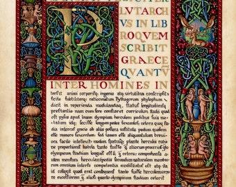 The Noctes Atticae of Aulus Gallius Illumination