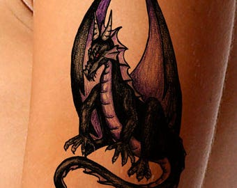 Temporary Tattoo-Guardian Dragon Tattoo-Gifts for Women-Tattoo Sticker-Gifts for Men