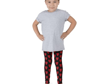 Girl's Valentine's Day Leggings
