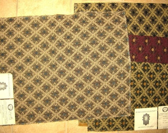 Pindler Lustrino Embroidered Diamond Designer Fabric Sample Hearst Castle Dressy Metallic Pick One