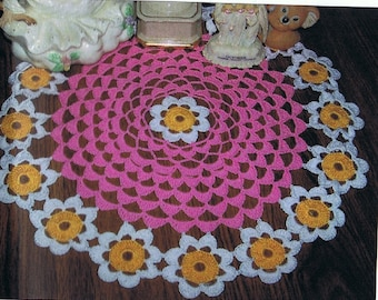 Original Crochet Doily Pattern~New Release from Designer's Collection~ Choose Thread Color to Suite Taste/Home Decor~