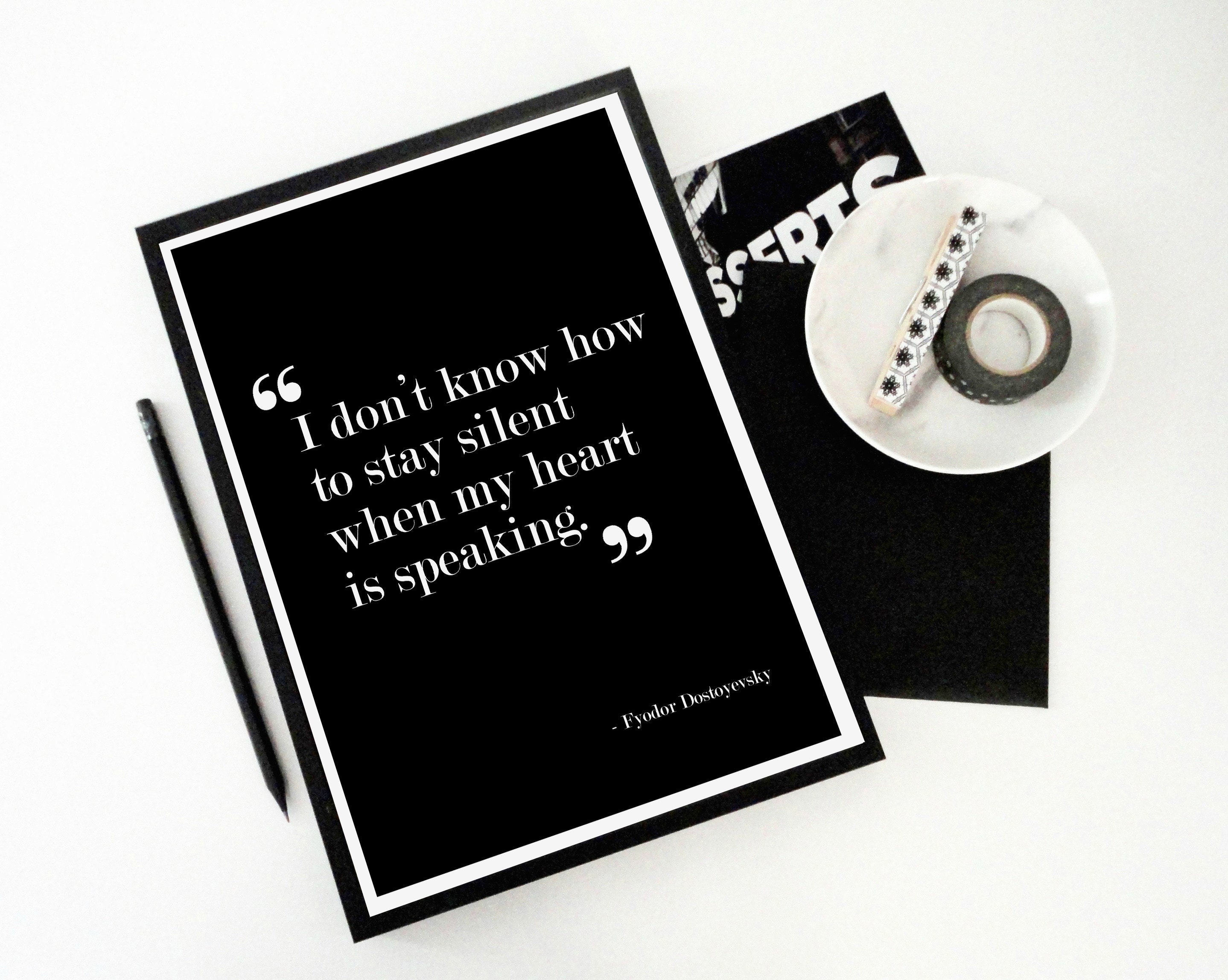 typography quote print from etsy shop sacred and profane designs