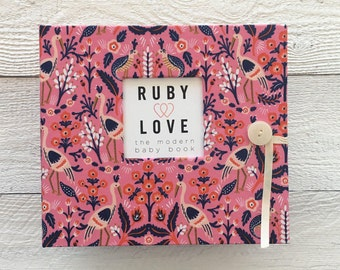 BABY BOOK | Rifle Paper Co. Tapestry Rose Album