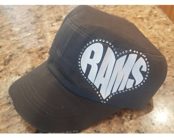 MMHS - Rams Heart Cadet Hat