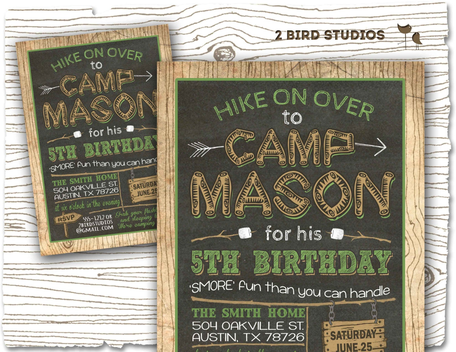 Camping invitation camping party invitation camping birthday zoom filmwisefo Image collections