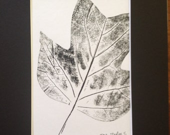 Leaves of Spring Monoprint #5