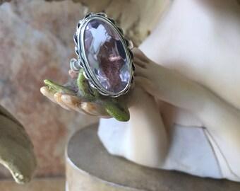 10CT Kunzite Ring