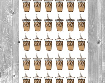 Coffee Lover Planner Stickers