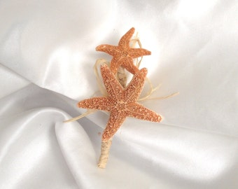 starfish boutonniere, beach wedding boutonniere, starfish and pearl boutonniere, coastal wedding corsage, starfish corsage, beach buttonhole