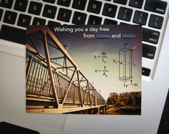 Printable Engineering Nerd Birthday Card