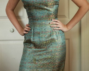 Vintage UNION LABEL AFLCIO  Women's Dress