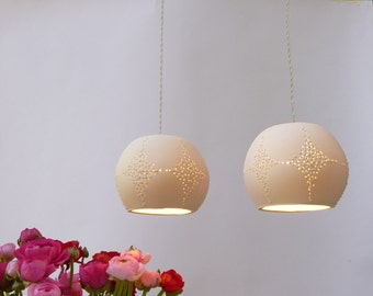 Two Corals, Pendant light