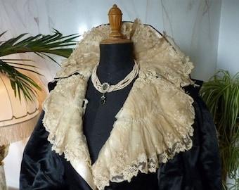 ON SALE 1895 Opulent Opera Coat, London, antique coat, Victorian Coat