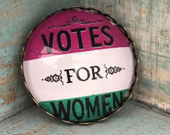 Votes for Women Suffragette Brooch