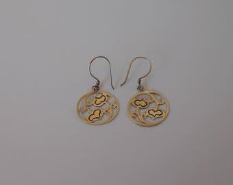 Handmade Solid 925 Sterling silver earrings