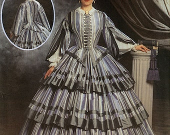 Civil War Gone with the Wind Dress