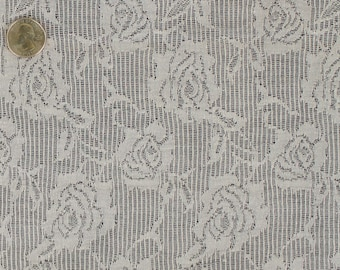 "Floral Lace Jacquard Fabric""LCJQ9E-10048"""