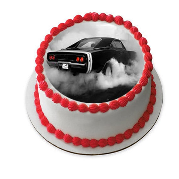 Classic Cars Edible Cake Image Antique Car Cake Fathers