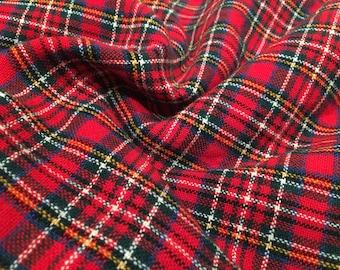 Stewart Royal tartan wool