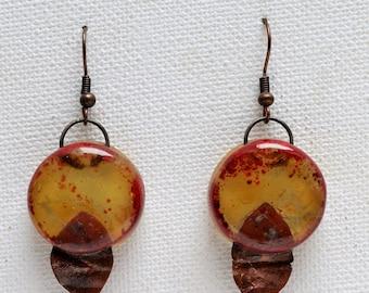 Effeuiller la marguerite pas du tout earrings
