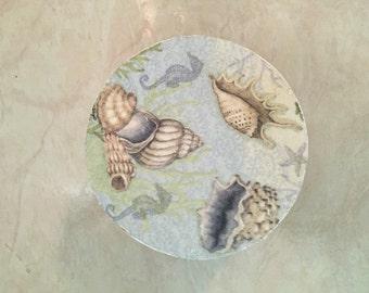 Decorative Box - Blue Shells