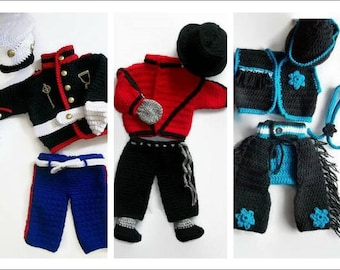 Baby  Crochet Patterns, Baby boy patterns, crochet boy pattern, photo prop crochet pattern