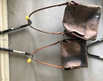 Homemade rustic bags
