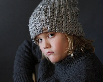 Crochet Slouchy Beanie  PATTERN Huntsman Slouchy Hat Pattern Includes 8 Sizes