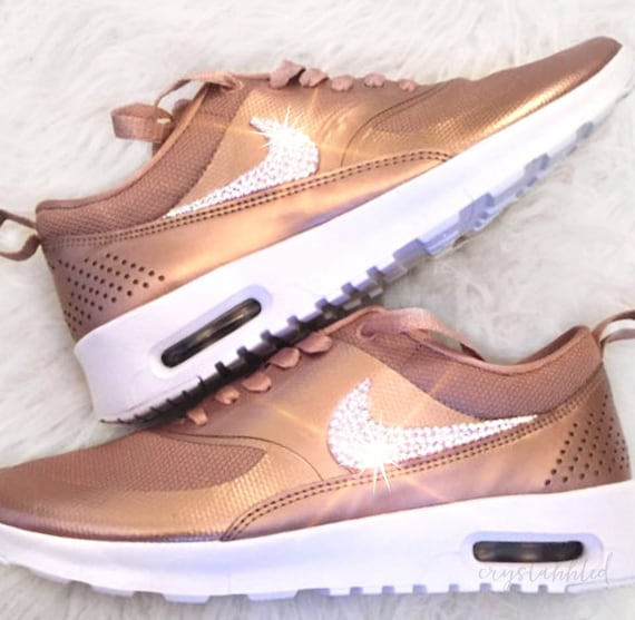 nike shoes rose gold